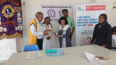 Health checkup on World Pharmacists' Day