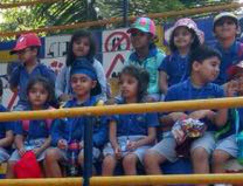 Our children visited the traffic park at Colaba