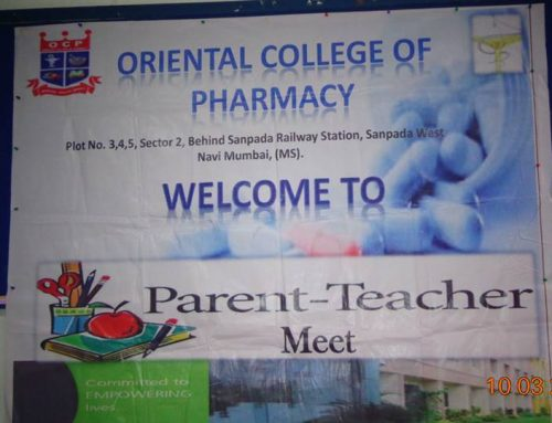 Parents teachers meeting was held at OCP on 10th March 2018. Parents of First to Final Year B.Pharm were invited
