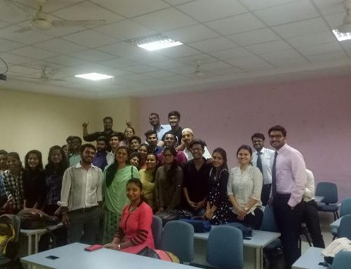Ms. Zareen Shaikh was the guest speaker for the Explico session this week. She spoke on Digital Marketing & Info graphic Resume