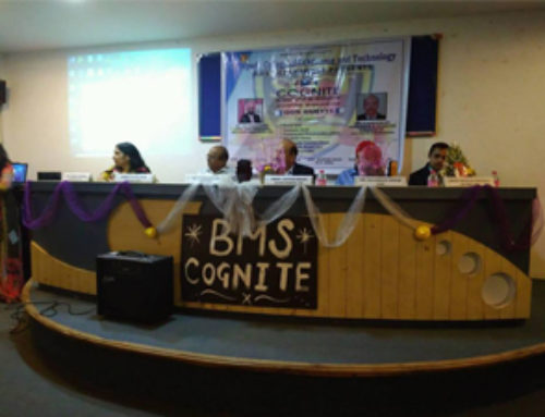 "BMS Department presents  Cognite ""Be Innovative Be Productive "". 