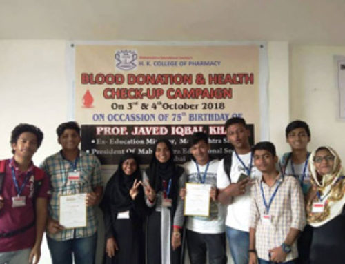 Junior college student Donating blood at HK campus On occasion of our president sir  | OCCM