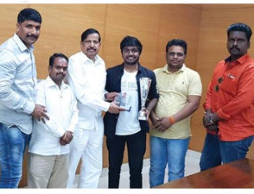 OCP alumini Mr.Pankit Mota is international chess tournament winner | OCP